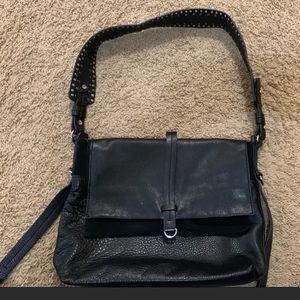 Beautiful black leather top shop purse